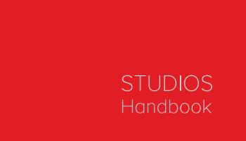 The studio handbook